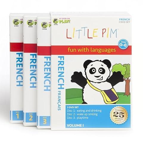 Little Pim Coffret 3 DVD français