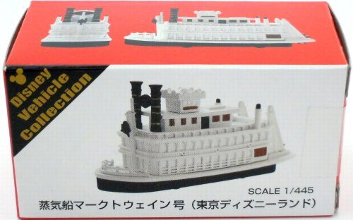 [Tokyo Disney Resort steamboat Mark Twain issue Tomica] TDR Disney Vehicle Collection TDL Mark Twain Riverboat Tomica (japan import) by Disney