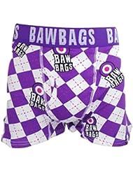 Bawbags Boxer Motif losanges Violet