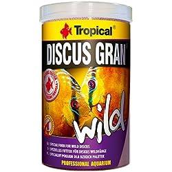 Discus Gran Wild 250ml/85g multi-ingredient Speisen in der Form von langsam sinkend Granulat mit dem Zusatz von Algen, Krill und Früchte.