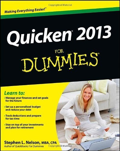 quicken-2013-for-dummies-1st-by-nelson-stephen-l-2012-paperback