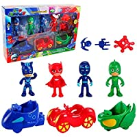 PJ Mask Cars and Action Figure Set