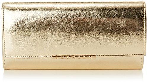 Buffalo Damen BAG BWG-05 PU Clutches Gold 01, 25x13x3 cm -