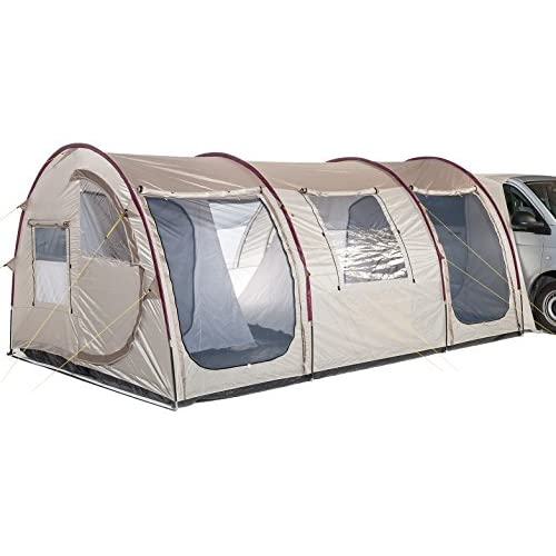 51 Bs2uXvsL. SS500  - Skandika Esbjerg Travel Free-standing Awning With Sewn-in Groundsheet and 2 Sleeping Cabins