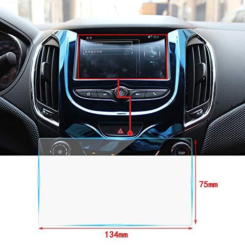 Cobear 6,2 Zoll HD Auto Navigation Schutzfolie Transparent Gehärtetes Glas Schutz passt für LCD GPS Navi Touch-Display 134×75mm