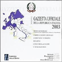 Gazzetta ufficiale della Repubblica Italiana (2002). Versione monoutenza. DVD