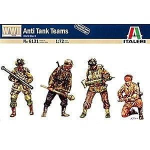 Italeri 6131S - Figuras de equipos antitanques Segunda Guerra Mundial
