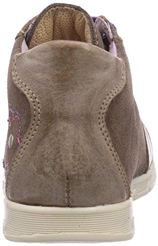 Däumling  Eddie, Chaussures premiers pas pour bébé (fille) Marron - Braun (Turino tartuffo89)