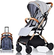 Baby Stroller Plane Lightweight Portable Travelling Pram Children