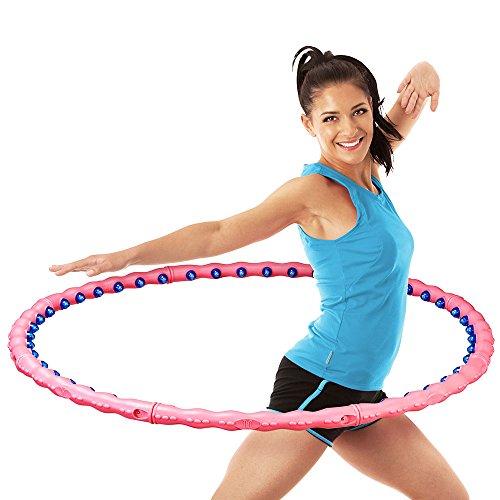 meteor® Premium Magnete Massagenoppen Hula Hoop Reifen, 1,2 kg
