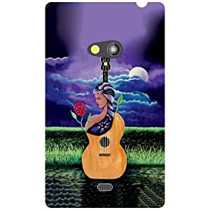 Nokia Lumia 625 Back Cover - Passion Designer Cases