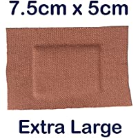 5x Steroplast Premium Ultra selbstklebend Medical Grade Schnitt Pflaster X-Large 7,5cm x 5cm preisvergleich bei billige-tabletten.eu
