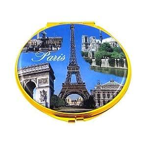 Souvenirs of France - 'Paris Monuments' Double Handbag Mirror