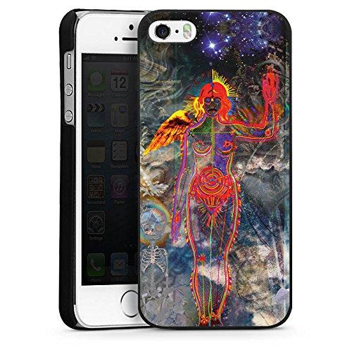 Apple iPhone 6 Housse Étui Silicone Coque Protection Galaxie Galaxie Univers CasDur noir