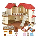Sylvanian Families - Casa de muñecas con 2 caracteres, mobiliario e iluminación (5171)