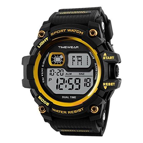 Timewear Digital Black Dial Men\'s Watch
