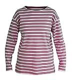 Bretonisches Damen Fischerhemd Langarm Streifen Hemd
