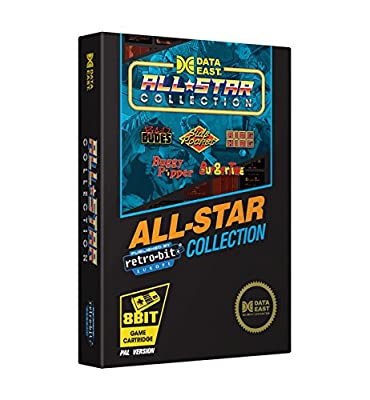 Retro-Bit Europe Data East All Star Collection PAL Version NES Cartridge for NES (Nintendo NES) by Retro-Bit Europe