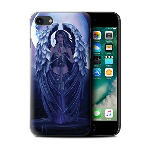 Officiel Elena Dudina Coque / Etui pour Apple iPhone 7 / Épée Magique Design / Super Héroïne Collection Ange Gardien