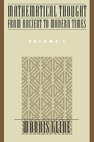 Mathematical Thought from Ancient to Modern Times: Mathematical Thought from Ancient to Modern Times, Volume 1: Vol 1 por Morris Kline