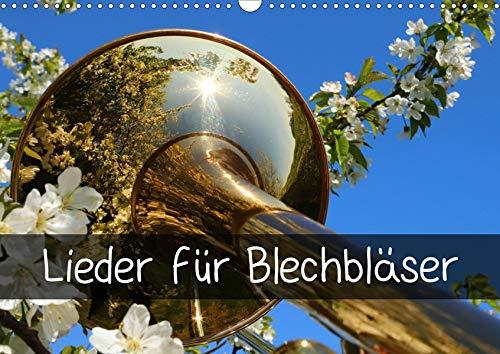 Lieder für Blechbläser (Wandkalender 2020 DIN A3 quer): Beliebte Lieder im Glanz der Blechblasinstrumente (Monatskalender, 14 Seiten ) (CALVENDO Glaube)