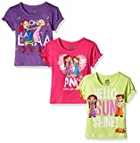 #10: Chhota Bheem Girls' T-Shirt (Pack of 3)