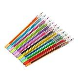 Eliky Stylo à encre gel diamant pour fournitures scolaires 12 stylos de couleur bonbon