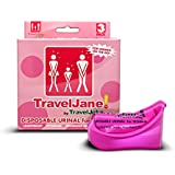 Travel John Jane Disposable Urinal for Women - Pack of 3