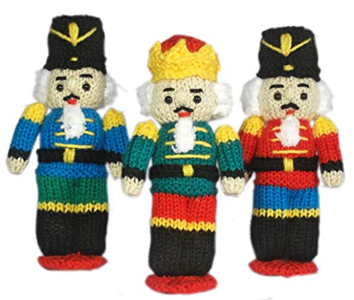 Nutcracker dolls knitting pattern