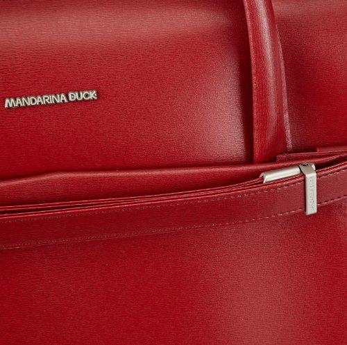 Mandarina Duck Hera, Sac à main Rouge - Rot (Red 206)