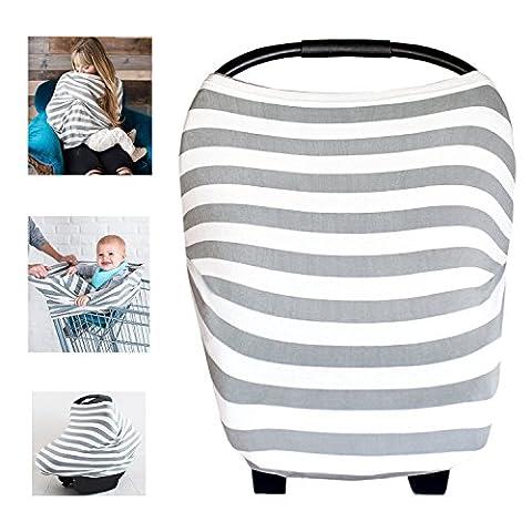 multi-usages Coton Bio d'allaitement allaitement Coque auto pour bébé Housse