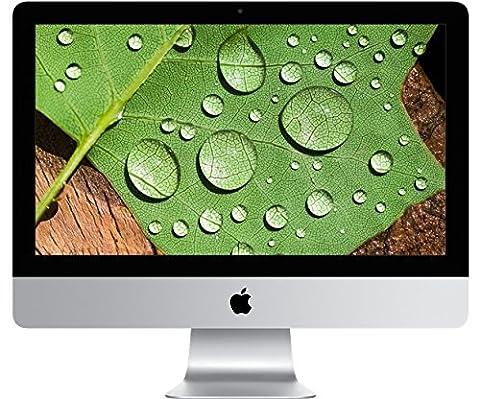 Apple iMac with Retina Display 21.5-inch Desktop (Intel Core i5 3.1 GHz, 8 GB RAM, 1 TB, Intel Iris Pro 6200, OS Sierra) - Silver - 2015