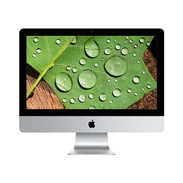 Apple iMac with Retina Display 21.5-inch Desktop (Intel Core i5 3.1 GHz, 8 GB RAM, 1 TB, Intel Iris Pro 6200, OS Sierra) – Silver – 2015 51 C3YAP3hL