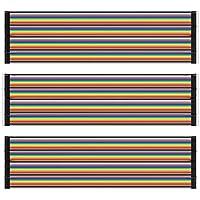 AZDelivery Jumper Wire Cables 20 cm cada uno Macho-Hembra/Macho-Macho/Hembra-Hembra compatible con Arduino y Raspberry Pi Breadboard con E-Book incluido!