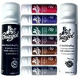 Burgol Nubuk Raulederpflege 100 ml, Wildlederpflege für Nubuk Velour und Textilien 9 Farben