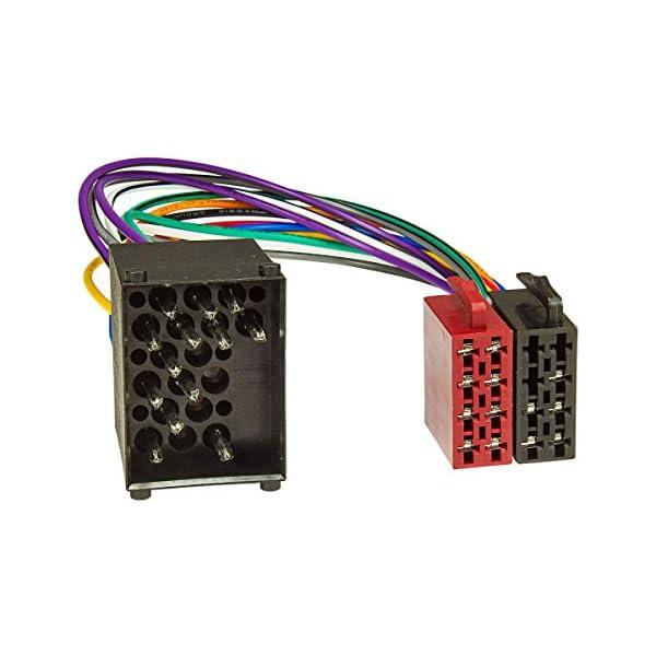 adattatore antenna Fakra din iso tomzz Audio 2404-035 Il set di lunetta radio si adatta compatibile con bmw 1er e87 3er e90 z4 e89 nero con adattatore quadlock iso