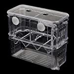 Sharplace Floating Fish Aquarium Hatchery Breeding and Parenting Box with Live Fry Trap 7