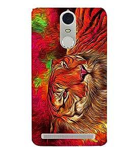 Bengal Tiger Panther Cheeta 3D Hard Polycarbonate Designer Back Case Cover for Lenovo Vibe K5 Note
