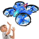 GEEKERA Mini Drone for Children, Helicopter Kids Drone with Gesture Controlled Toss Shake