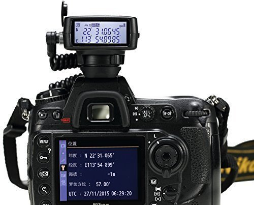 Solmeta gmax-ge Photo/Video GPS BDS dual-positioning Geotagger FOR NIKON D90 with Bluetooth Shutter Release, 1900 mAh Li-Ion Battery, 4 GB Flash, Altimeter, Electronic Compass, LCD Screen... Ge Video