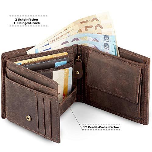 Geldbörse für Herren aus Leder - 4