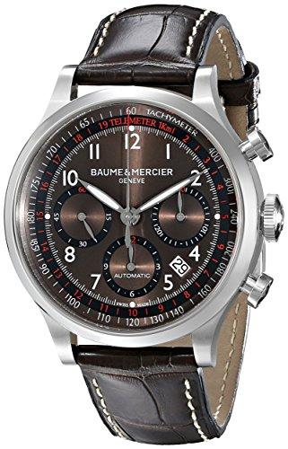 baume-und-mercier-capeland-chronograph-braun-zifferblatt-leder-braun-herren-armbanduhr-m0-a10043