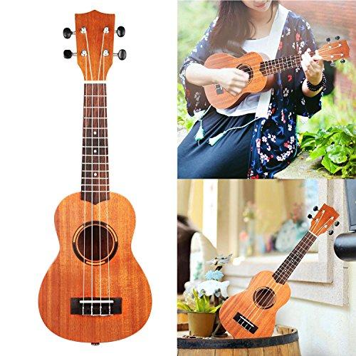 gpct-21-inch-sapele-ukulele-hawaiian-uke-w-matte-finish-4-strings-12-frets-clear-tone-suitable-for-b