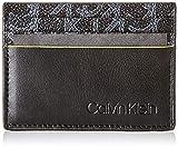 Calvin Klein Ck Mono Cardholder, Porte-cartes de crédit homme, Noir (Black),...