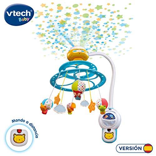 VTech Baby 3480-181022 Noche Estrellitas - Proyector móvil  para bebé, con luces y sonidos relajantes...