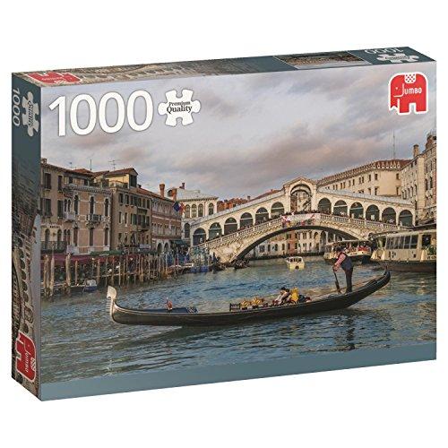 Rialto-finish (Premium Collection 18556Rialto Bridge Venedig Puzzle)