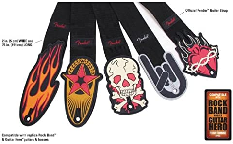 Fender Branded Guitar Strap (Xbox 360) (Assorted)