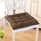 OLEEKA Verdicken Kissen gesäß Stuhl Kissen weiches leinen Tatami matratze Outdoor Platz Baumwolle sitzkissen Home Office 40 * 40 cm