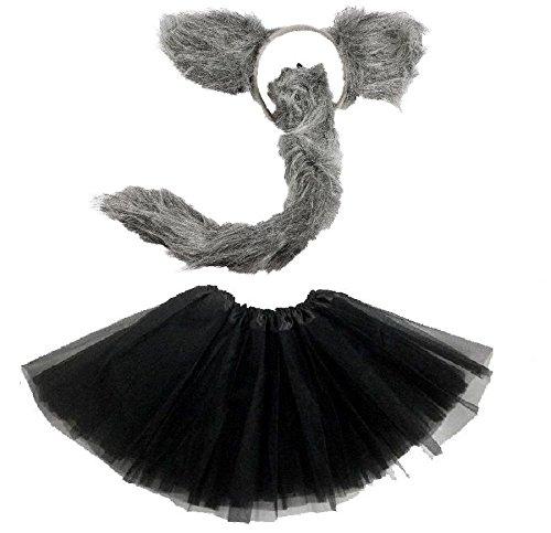 Lizzy® Damen Kostüm Wolf Tutu Costume