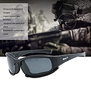 f3d5d95db4a842 Taktische Brille für Herren, X7, polarisierte Sonnenbrille, Motorradbrille,  Schutzbrille